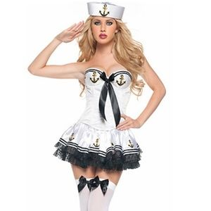 Sexy Sailor Dress Nautical Halloween Costume